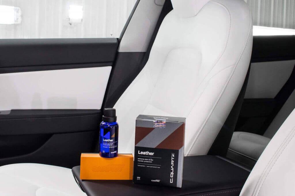 CQuartz Leather - Coating for Interior Surfaces